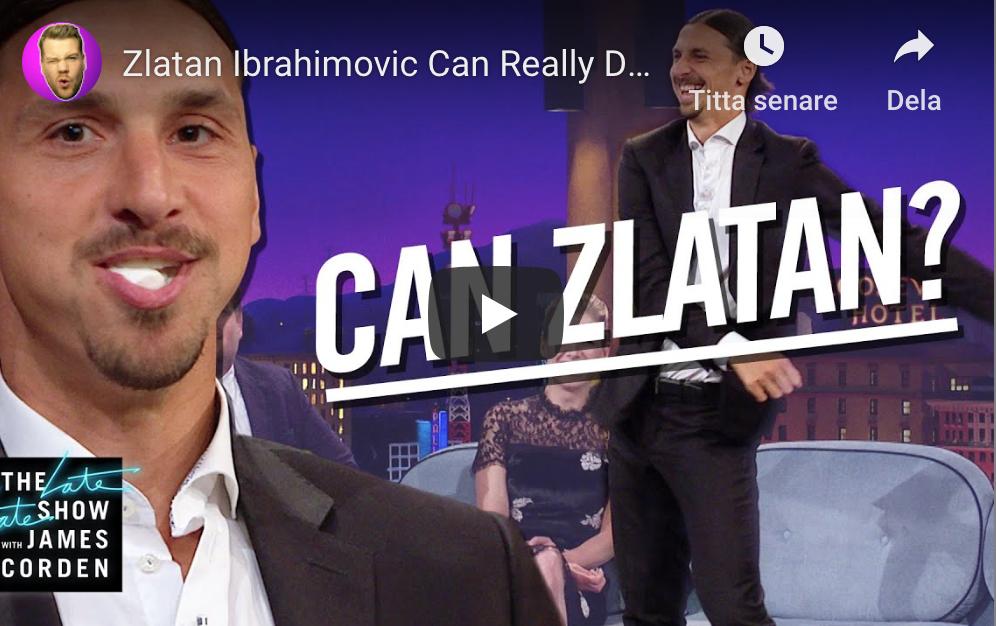 TV: Såhär har du aldrig sett Zlatan förut - Can Zlatan?